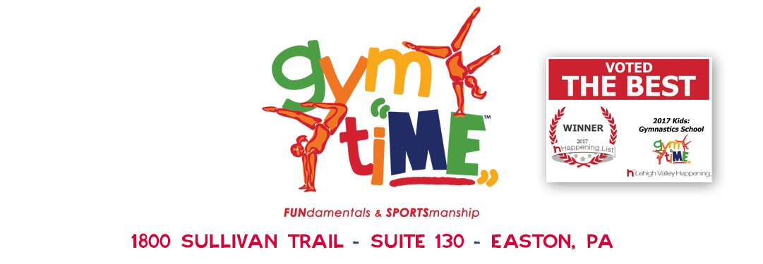 Gymtime Lehigh Valley S Best Gymnastics And Kids Fitness